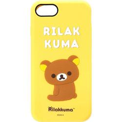 iPhone 7用 シリコンケース リラックマ YY01801
