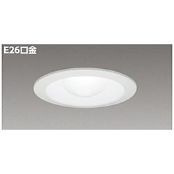LEDダウンライト LED電球一般形6.1W[E26口金 /425ルーメン /要電気工事] LEDC-22001(W) バージンホワイト
