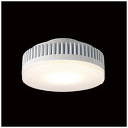 LEDユニットフラット形 500シリーズ 調光 φ90mm 広角 5.9W[口金GX53-1a /電球色 /510ルーメン] LEDユニット 樹脂乳白 LDF6L-H-GX53/D500 [電球色 /LED]