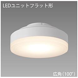 LEDユニットフラット形 500シリーズ φ90mm 広角 5.0W[口金GX53-1a /電球色 /510ルーメン] LDF5L-H-GX53/500