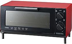 オーブントースター(860W) TS-4035R レッド
