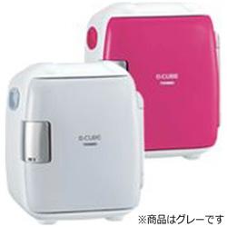 2電源式コンパクト電子保冷保温ボックス 「D-CUBE S」 HR-DB06GY グレー