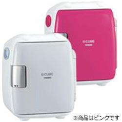 2電源式コンパクト電子保冷保温ボックス 「D-CUBE S」 HR-DB06P ピンク