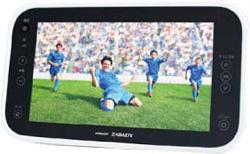 10.1V型防水ワイヤレスポータブルテレビ WIRELESS ZABADY VW-J108W(地デジチューナーセパレート)   [防水対応]
