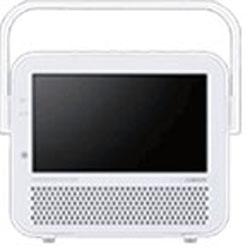 7V型 ワンセグ対応ポータブルDVDプレーヤー VD-J719W(ホワイト)   [7V型 /ワンセグ]