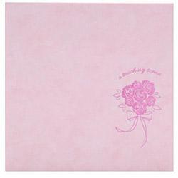 フォトマウントましかく バラ ピンク