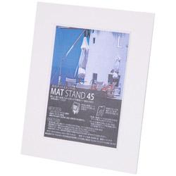 フォトフレーム 「マットスタンド45」(L判/パームビーチホワイト) 11239-6