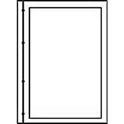 新フォトス20S・プリントアルバムF-1用替台紙 (キャビネ・20枚収納) 15058-9