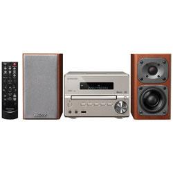 【ハイレゾ音源対応】Bluetooth対応 コンパクトHi-Fiシステム(ゴールド) XK-330-N【ワイドFM対応】   [ワイドFM対応 /Bluetooth対応 /ハイレゾ対応]