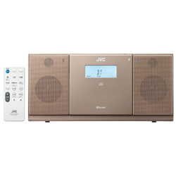 CDラジオ(ラジオ+CD)ブラウン NXPB30T 【ワイドFM対応】