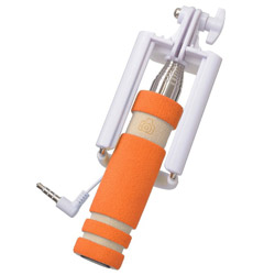 ミニセルフィースティックオレンジ V-81354
