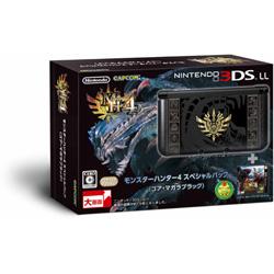 [使用]任天堂3DS LL身体怪物猎人特惠装[戈尔弯曲黑色]
