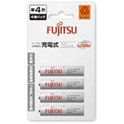 富士通(FUJITSU) 【単4形ニッケル水素充電池】HR-4UTC(4B) 4本 FUJITSU 充電式電池 スタンダードタイプ