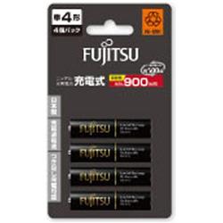 富士通(FUJITSU) 【単4形ニッケル水素充電池】 4本 FUJITSU 充電式電池 高容量タイプ HR-4UTHC(4B)