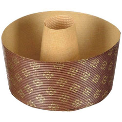 ラフィネ 紙製 シフォンケーキ 焼型 14cm 2枚入 D-6113