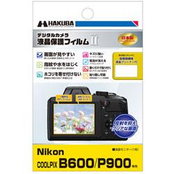 液晶保護フィルム MarkII (ニコン Nikon COOLPIX B600 / P900 専用) DGF2-NCB600