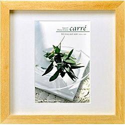 SQ木製額 「carre(カレ)」 (ポストカード(KGサイズ)/1面/ナチュラル) FSQCR-NTKG1