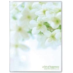 PポケットアルバムNP (Lサイズ40枚/フラワーホワイト) APNPL40FWW