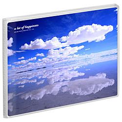 Pポケットアルバム NP KG(ハガキ)サイズ 横 20枚収納 ハクバ 空と雲 APNP-KGY-STK