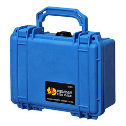 小型防水ハードケース 1120HK (ブルー)