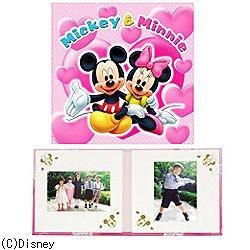 写真台紙 「ミッキー&ミニー」 (6切判)[生産完了品 在庫限り]