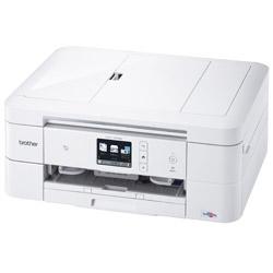 ブラザー PRIVIO(プリビオ) DCP-J978N-W インクジェット複合機プリンター [無線・有線LAN/USB2.0] ホワイト [L判〜A4]