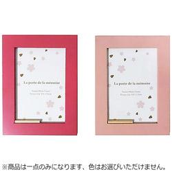 2612 木製フォトフレーム サクラ アソート【色指定不可】