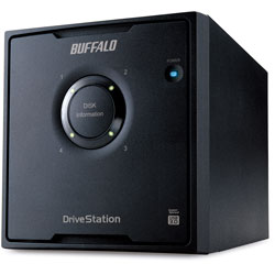 HD-QL16TU3/R5J  外付HDD [USB3.0・16TB] 4ドライブモデル/RAID 5対応