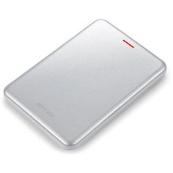 耐振動・耐衝撃 高速薄型USB3.1 Gen2対応 ポータブルSSD SSD-PUSU3シリーズ (240GB・シルバー) SSD-PUS240U3-S