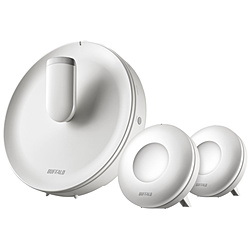 BUFFALO(バッファロー) メッシュWi-Fiルーター 親機+中継機 866+866+400Mbps AirStation connect パールホワイトグレージュ WTR-M2133HS/E2S [ac/n/a/g/b]