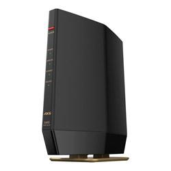BUFFALO(バッファロー) 【店頭併売品】 Wi-Fiルーター 親機 4803+573Mbps AirStation マットブラック WSR-5400AX6S-MB [Wi-Fi 6(ax)/ac/n/a/g/b]
