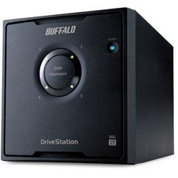 HD-QL4TU3/R5J  外付HDD [USB3.0・4TB] 4ドライブモデル/RAID 5対応