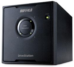 HD-QL12TU3/R5J  外付HDD [USB3.0・12TB] 4ドライブモデル/RAID 5対応