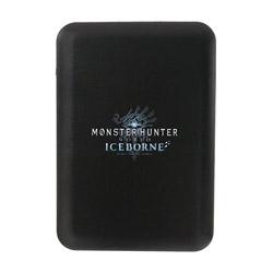 モンスターハンター モバイルバッテリー5000 アイスボーンロゴBK ブラック SC5MHICBK