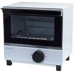 オーブントースター (550W) KOS-07BK-W ホワイト