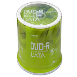 DVD-Rデータ用 4.7GB 1-16倍速 100枚スピンドルケースホワイトワイドプリンタブルインクジェットプリンタ対応 VVDDR47JP100
