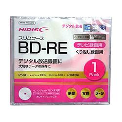 HIDISC BD-RE 繰り返し録画用 1Pケース入 [1枚]