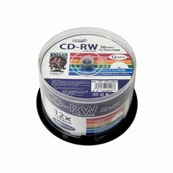 データ用CD-RW HDCRW80TP50 [50枚 /700MB /インクジェットプリンター対応]