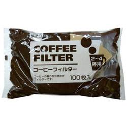 コーヒーフィルター 100P2-4BROWN