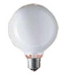 GW100V22W50E17 パナボール電球(25形・ホワイト・50mm径)