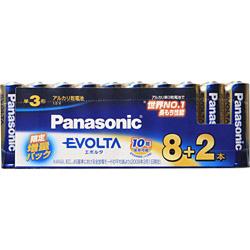 Panasonic(パナソニック) エボルタ乾電池 単3 10本パック