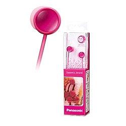Sweets Jewel(ディープピンク)RP-HJF3-P<1.2mコード> カナル型イヤホン
