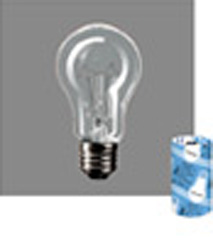 RC110V20WCD 耐振電球 110V用・E26口金 20形(55ミリ径)