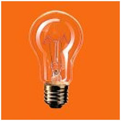 耐振電球 110V用・E26口金 60形(60ミリ径) RC110V60W・C/D