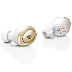 MS-TW2PWG ホワイトゴールド【防滴】【本体2.5時間再生】【片耳4g】ワイヤレスイヤホン カナル型