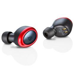 MS-TW2PRD レッド【防滴】【本体2.5時間再生】【片耳4g】ワイヤレスイヤホン カナル型