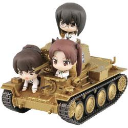 【在庫限り】 ガールズ&パンツァー 38(t)戦車B/C型 エンディングVer.親善試合時 組立塗装済完成品