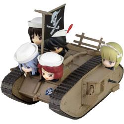 ピットロード ガールズ&パンツァー劇場版 Mk.IV戦車 エンディングVer. 塗装済み完成品