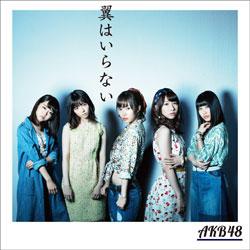 AKB48/翼はいらない Type B 初回限定盤 【CD】 [AKB48 /CD]