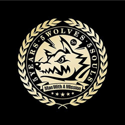 MAN WITH A MISSION/5YEARS・5WOLVES・5SOULS 通常盤 【CD】